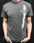Explorers Percussion Tweed w/ Off White Racing Stripe T-Shirt