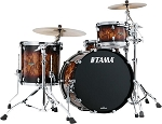 Tama Drum Set Starclassic 3 Piece Walnut/Birch Shell Pack in Molten Brown Burst