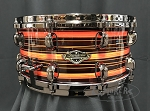Tama Snare Drum Starclassic Limited Edition 6.5x14 Walnut/Birch Shell in Neon Orange Oyster