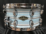 Tama Snare Drum Starclassic 6.5x14 Walnut/Birch Shell in Lacquer Arctic Blue Oyster