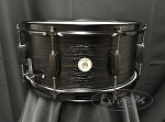 Tama Snare Drum Woodworks 6.5x14 Poplar Shell in Black Oak Wrap