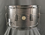 Tama Snare Drum Woodworks 8x14 Poplar Shell in Black Oak Wrap