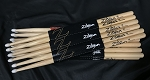 Zildjian 5B Nylon Tip Drum Stick Pair - 9 Pair Pack