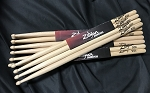 Zildjian ZG9 9 Gauge Wood Tip Hickory Drum Stick Pair - 8 Pair Pack