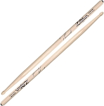 Zildjian 5A Anti-Vibe Drum Stick Pair - Wood