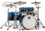 Mapex Armory 6-Piece Studioease Shell Pack - Photon Blue - Birch/Maple/Birch