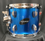 Ludwig Accent CS Combo 8x10 Add On Tom w/ Arm - Blue