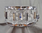 WFL III Snare Drum 6.5x14 Acrylic - Top Hat and Cane Series