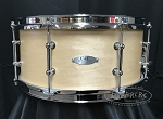 C&C Custom Snare Drum 6.5x14 Gladstone 7 Ply Maple Shell w/ Tube Lugs - Natural Maple Satin