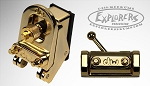 Drum Workshop Mag Throw-off Strainer System w/ 3 Position Butt End - Gold