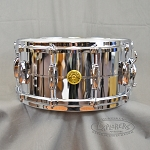 Gretsch Snare Drum USA 6.5x14 Chrome Over Brass Shell