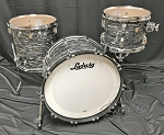 Ludwig Drum Set Classic Maple FAB 3 Piece Shell Pack in Vintage Black Oyster