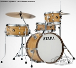 Tama Drum Set Club Jam 4 Piece Shell Pack in Satin Blonde