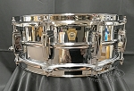 Ludwig Snare Drum 5x14 Supraphonic Seamless Chrome Plated Aluminum Smooth Shell w/ Imperial Lugs - New Other
