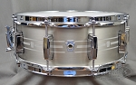 Ludwig Snare Drum 5.5x14 Heirloom Stainless Steel w/ Laser Etched