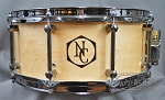 Noble and Cooley 6 x 14 Horizon Series Satin Maple Snare Drum