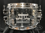 PDP Snare Drum 7x13 Chad Smith Signature Clear Acrylic Shell
