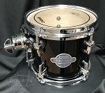 Sonor Select Force 7x8 7 Ply Maple Mounted Tom - Piano Black