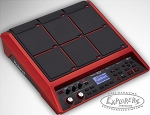 Roland SPDSX Special Edition Electronic Sampling Pad - Red
