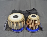 Tabla Set with Case Rosewood Tabla with Brass 5.50
