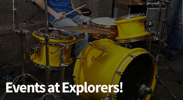 Events at Explorers!