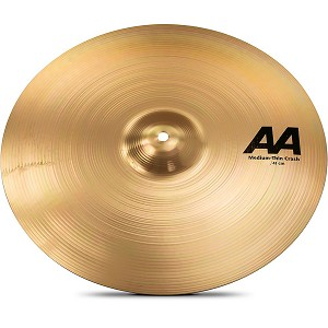Sabian AA Medium Thin Crash Cymbal