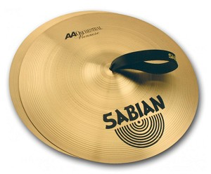 "Sabian AA 20"" Viennese Band & Orchestral Hand Cymbal Pair"