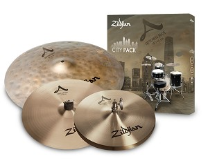 Zildjian City Pack 4 Piece Cymbal Set Up