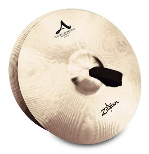 "Zildjian A Series 16"" Classic Orchestral Selection Medium Heavy Cymbal Pair"
