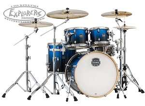 Mapex Armory 5-Piece Rock Shell Pack - Photon Blue - Birch/Maple/Birch