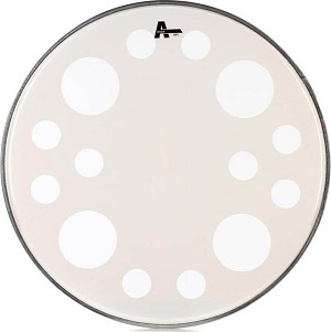 "Attack Orbit 22"" Batter Bass Drum Head - White"