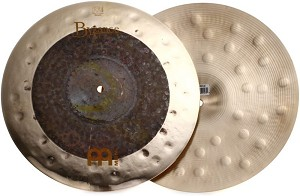 "Meinl Byzance 15"" Extra Dry Dual Hi Hat Cymbal Pair"