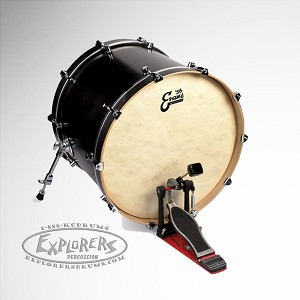 evans 56 39 calftone eq4 single ply bass drum batter head. Black Bedroom Furniture Sets. Home Design Ideas