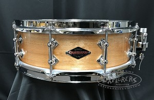 Craviotto Custom Snare Drum 4.5x14 Solid Birch Shell w/ Tube Lugs & 30 Degree Edges