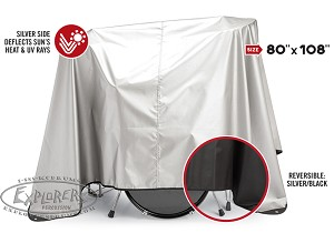 "Drum Cover 80"" x 108"" - Water Repellent & Reversible"