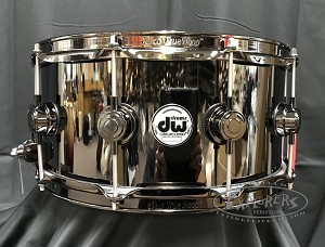 ffe60870b865 DW Collectors Series Snare Drum 6.5x14 Black Nickel over Brass Shell