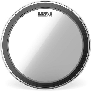 Evans GMAD Clear Single Ply Batter Bass Drum Head