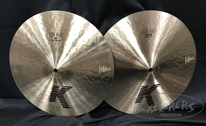 "Pasic Cymbal New Other - Zildjian 15"" K Light Hi Hat Cymbal Pair"
