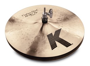 Zildjian K Custom Dark Hi Hat Pair