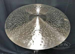 "Pasic Cymbal New Other - Zildjian K Constantinople 22"" Thin Overhammered Ride Cymbal - 2232 grams"