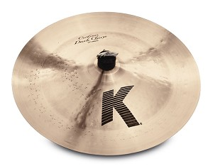 "Zildjian 17"" K Custom Dark China Effects Cymbal"