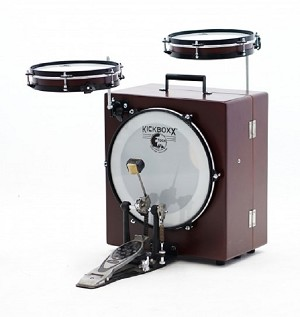 Toca Percussion Kickboxx Suitcase Drum Set
