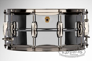 Ludwig Snare Drum 6.5x14 Super Series Chrome Over Brass Shell w/ Nickel Hardware