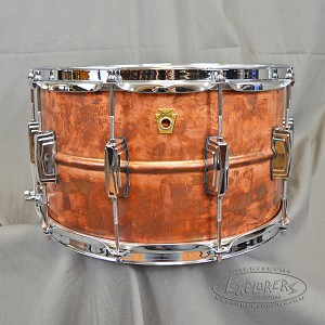 Ludwig Snare Drum 8x14 Copperphonic Copper Shell Snare Drum