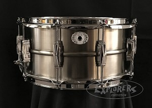 Ludwig Snare Drum USA Limited Edition 6.5x14 Copperphonic in Pewter Finish