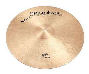 "Istanbul Agop 21"" Mel Lewis Signature Ride Cymbal"