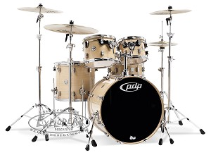 DW PDP Concept Series Maple 5 Piece Shell Pack
