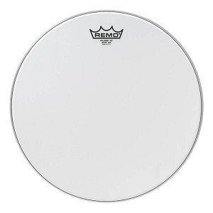 Remo Falams XT Smooth White Marching Snare Side Drum Head w/ Kevlar