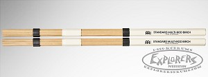 Meinl Birch Standard Multi-Rod Bundle Stick Pair - Solid Birch Dowels