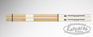 Meinl Bamboo Standard Multi-Rod Bundle Stick Pair - Solid Bamboo Dowels